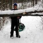 A Homemade Gear Sled (Pulk) for Backcountry Winter Travel
