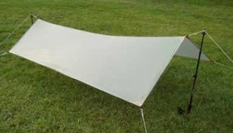 "<span class=""membersonly""></span> Catenary Curvature as an Element of Ultralight Tarp Design"