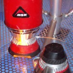 Integrated White Gas and Canister Stove/Cookware Systems from MSR Unveiled (Outdoor Retailer Summer Market 2004)