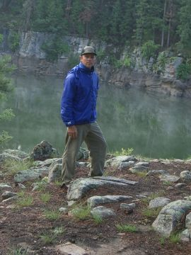 Montane Solo Jacket -field shot