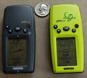 Garmin Geko 301 and 201 GPS - 1