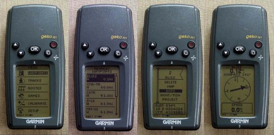 Garmin Geko 301 and 201 GPS - 4
