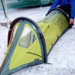 NEMO Burrito – Air Supported Tent First Look (Outdoor Retailer Winter Market 2005)