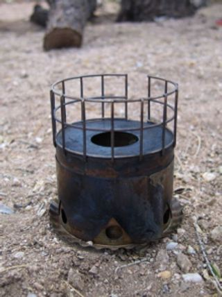 Brasslite Turbo II-D Alcohol Stove - 2