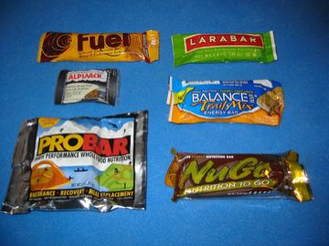 First Annual Energy Bar Test - 1