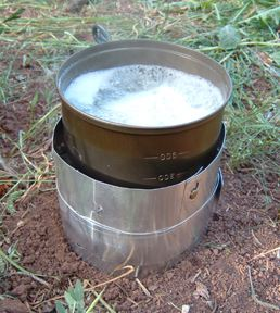 ThermoJet MicroLite Alcohol Stove - 2