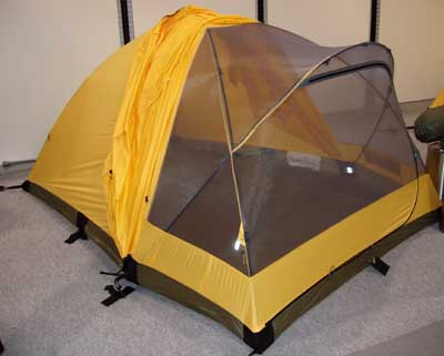 The front of the tent is a mesh inner wall and an Epic outer canopy/fly and can be rolled-up in nice weather or rolled down in inclement conditions for ... & Black Diamond Skylight Tent (Outdoor Retailer Summer Market 2005 ...
