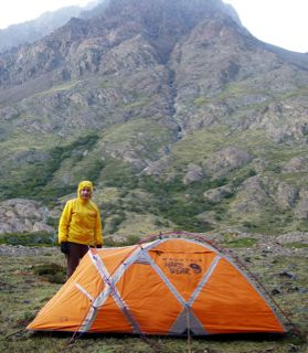 Mountain Hardwear EV2 Single Wall Mountaineering Tent - 2 & Mountain Hardwear EV2 Tent REVIEW - Backpacking Light