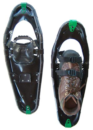 Dion Model 168 Rec/Fitness Snowshoe REVIEW - 1