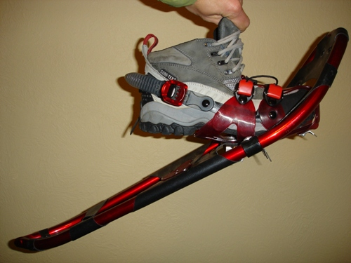 Crescent Moon Gold Series 9 Snowshoe REVIEW - 4