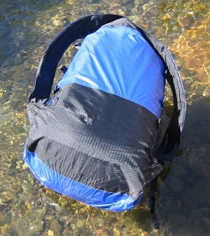 gossamer gear whisper uberlight pack backpanel