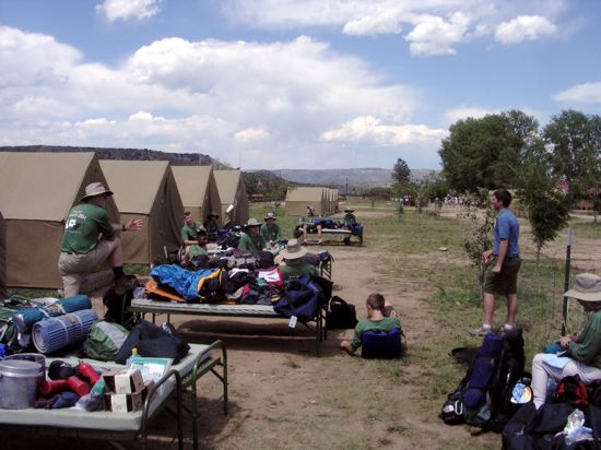 Boy Scout Gear List: Philmont Scout Ranch, New Mexico, Summer - 2