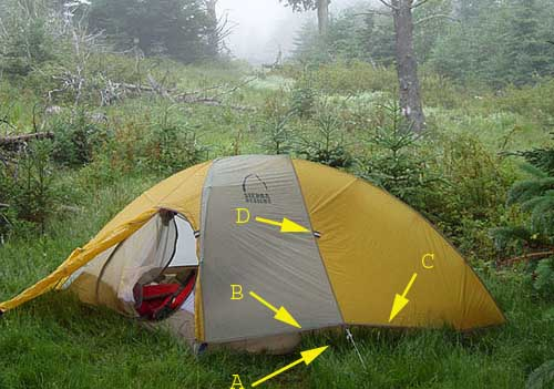 Sierra Designs Hyperlight Tent REVIEW - 4 & Sierra Designs Hyperlight Tent REVIEW - Backpacking Light