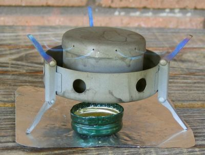 A Modified Vargo Triad XE Alcohol Stove REVIEW - 2