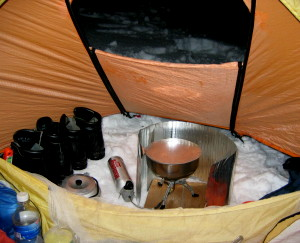 Stoves, Tents and carbon Monoxide - Pt 1