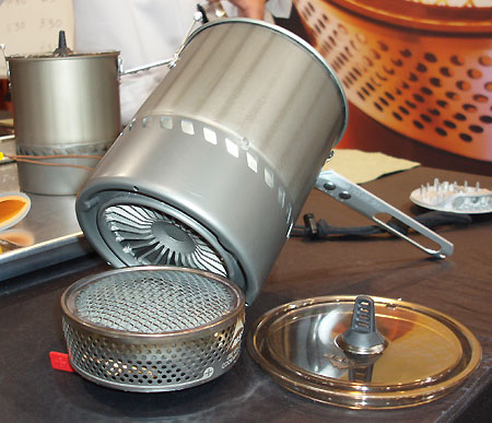 MSR Reactor Integrated Canister Stove  (Outdoor Retailer Summer Market 2006) - 2