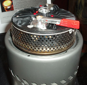 MSR Reactor Integrated Canister Stove  (Outdoor Retailer Summer Market 2006) - 3