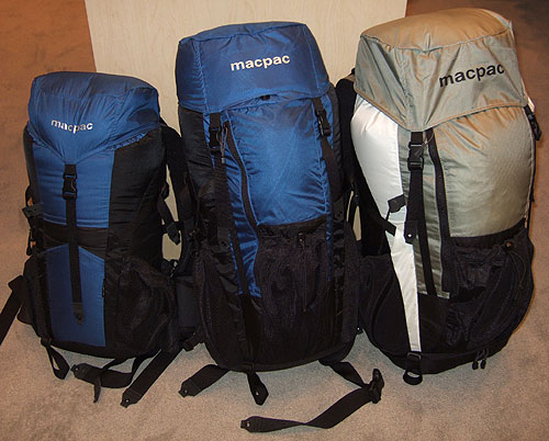 New Macpac AMP Light Backpacks (Outdoor Retailer Summer Market 2006) - 1
