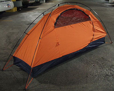 A One-Person Tent as Light as a Bivy From Big Sky International (Outdoor Retailer Summer Market 2006) - 1