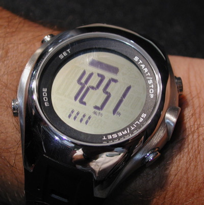 St. Moritz Watches: Momentum VP-1 and VS-1 Digital Altimeters and Momentum Logic (Outdoor Retailer Summer Market 2006) - 1