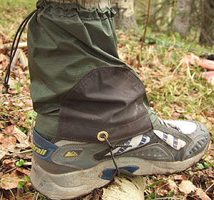 Integral Designs eVENT Shortie Gaiters SPOTLITE REVIEW - 2