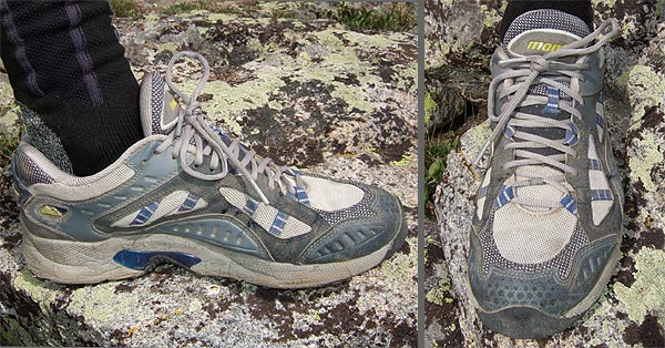 Montrail Hardrock Trail Shoe SPOTLITE REVIEW - 1