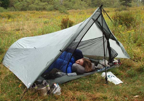 Comparison of Tarptent Squall 2 and Six Moon Designs Europa 2005 - 2