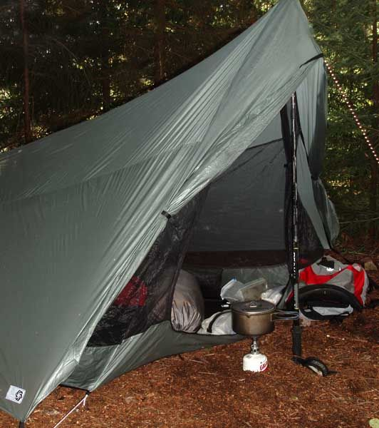 Comparison of Tarptent Squall 2 and Six Moon Designs Europa 2005 - 7