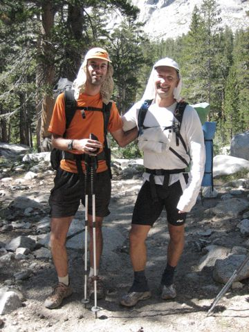 Results John Muir Trail JMT Record Attempt  Unsupported