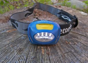 Princeton Tec Quad LED Headlamp REVIEW - 1