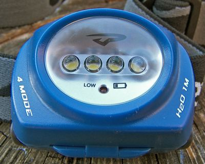 Princeton Tec Quad LED Headlamp REVIEW - 2