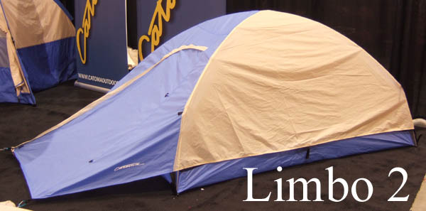 Catoma Outdoor Twist and Worm Tents Set Up at the Drop of a Hat (Outdoor Retailer Winter Market 2007) - 3