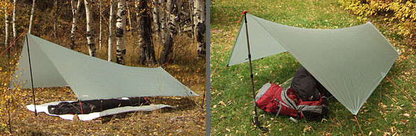 Gossamer Gear SpinnTwinn Tarp REVIEW - 1