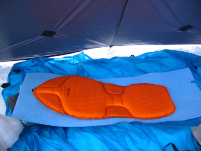 Pacific Outdoor Equipment Uber Mtn Sleeping Pad REVIEW - 3