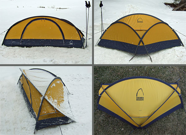 Sierra Designs Assailant Tent REVIEW - 1 & Sierra Designs Assailant Tent REVIEW - Backpacking Light