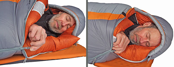 Sierra Designs Flash Sleeping Bag  REVIEW - 4