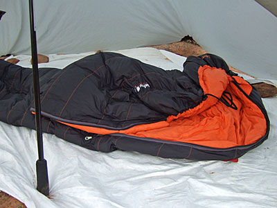 Lafuma Pro 650 Down Sleeping Bag REVIEW - 2