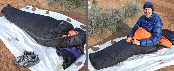 Lafuma Pro 650 Down Sleeping Bag REVIEW - 5
