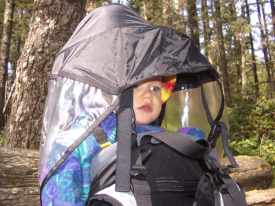 2007 Sherpani Rumba Superlight Child Carrier REVIEW - 4