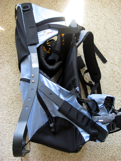 2007 Sherpani Rumba Superlight Child Carrier REVIEW - 5