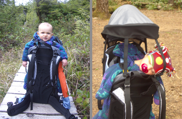 2007 Sherpani Rumba Superlight Child Carrier REVIEW - 6