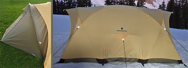 Black Diamond Guiding Light Tent REVIEW - 9