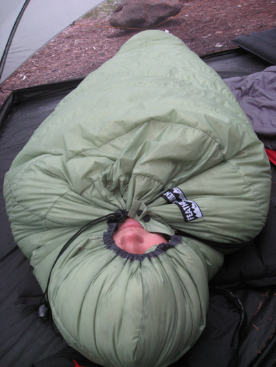 2007 Feathered Friends Grouse Sleeping Bag SPOTLITE REVIEW - 1