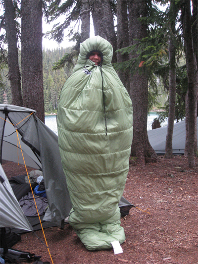 2007 Feathered Friends Grouse Sleeping Bag SPOTLITE REVIEW - 2