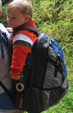 2007 Deuter KangaKid Child Carrier REVIEW - 3