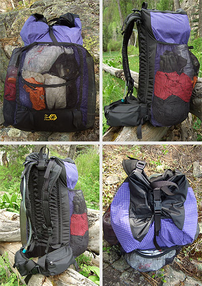 Six Moon Designs 2007 Comet Backpack REVIEW - 2