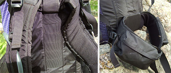 Six Moon Designs 2007 Comet Backpack REVIEW - 3