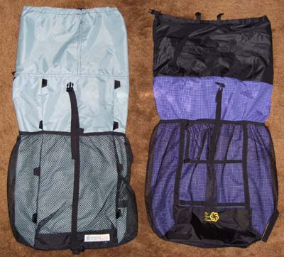 Six Moon Designs 2007 Comet Backpack REVIEW - 9