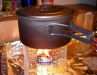 Candle Stove