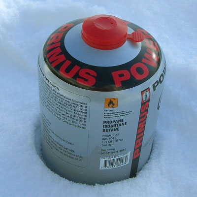 Primus PowerGas 450g Canister (Outdoor Retailer Winter Market 2008) - 1